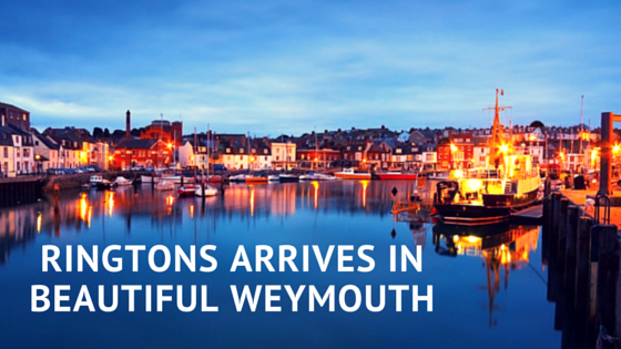Ringtons Arrives in Weymouth