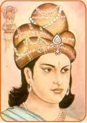 An Indian King Image