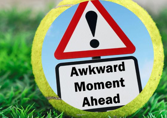 Awkward Moment Ahead Road Sign