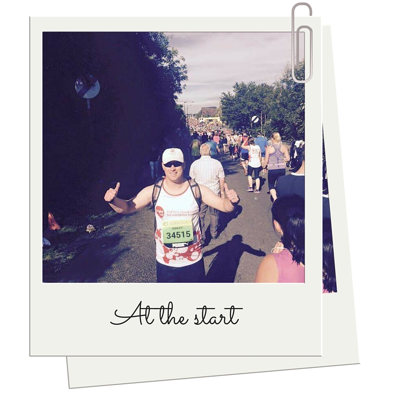 Ash Winter at the start of the GNR