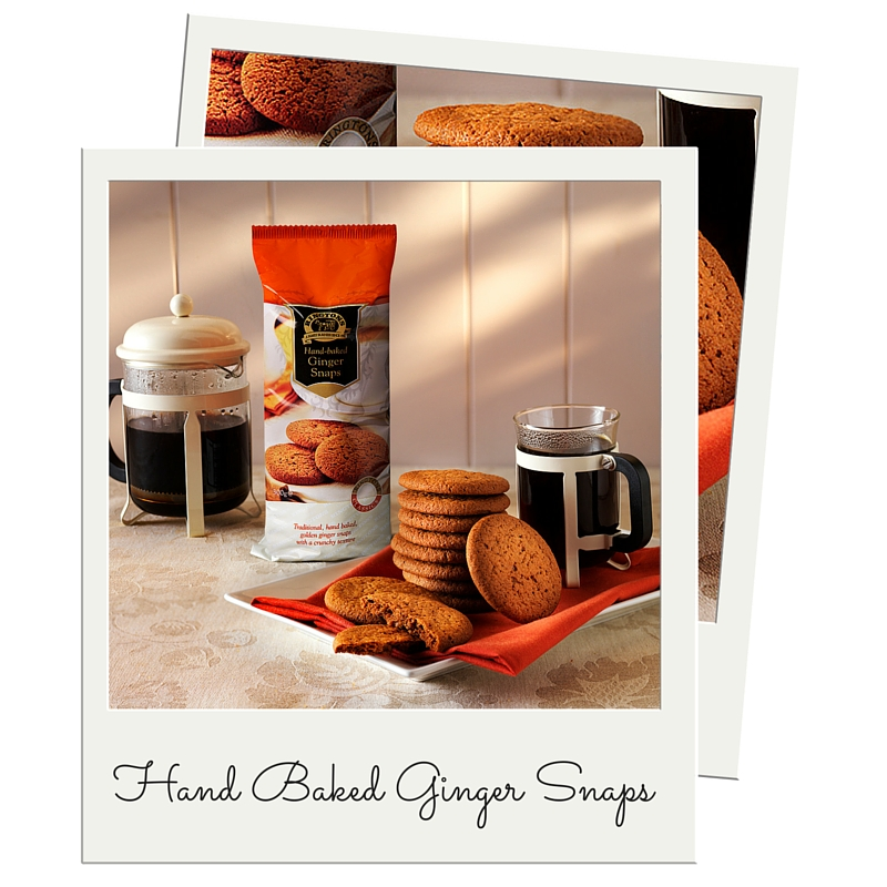 Hand Baked Ginger Snaps