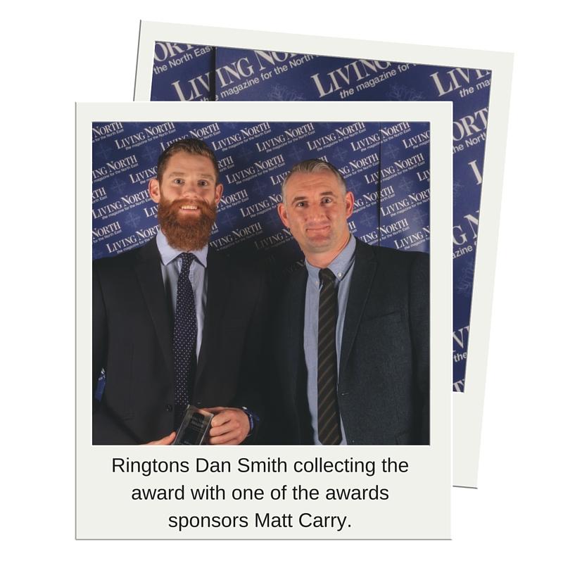 Ringtons Dan Smith and Awards Sponsor Matt Carry