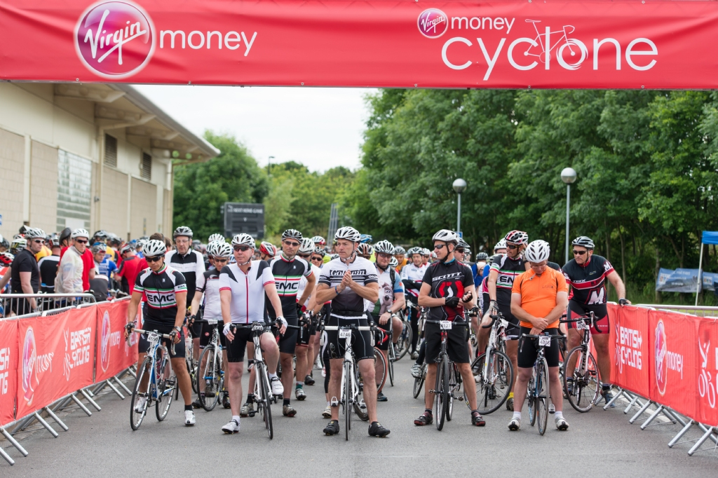 Ringtons helps Virgin Money Cyclone riders take time for tea