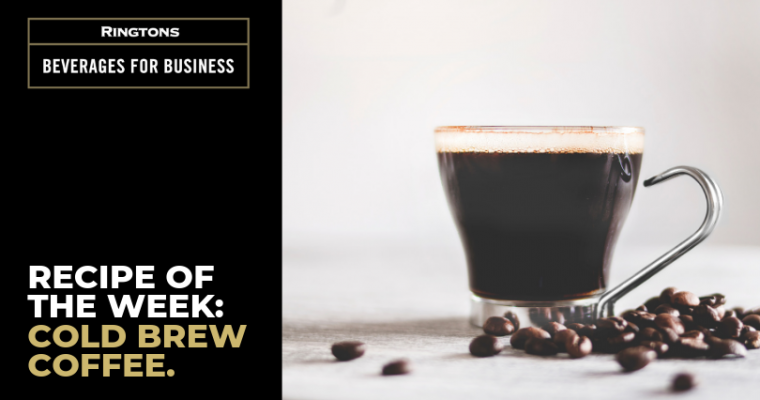 Recipe of the Week: Cold Brew Coffee