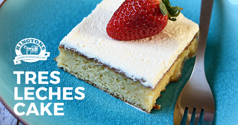 Tres Leches Cake: Ringtons Recipe