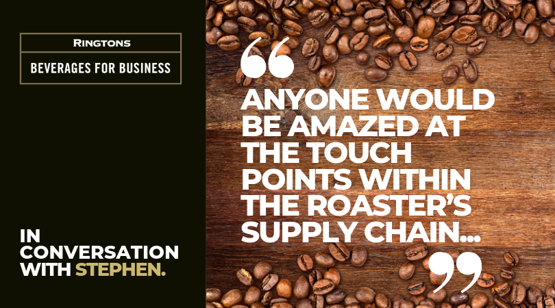 In Conversation with Stephen Drysdale, Head of Coffee