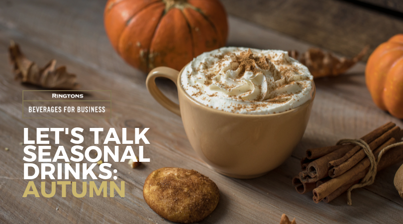 Let's talk seasonal drinks menus: Autumn