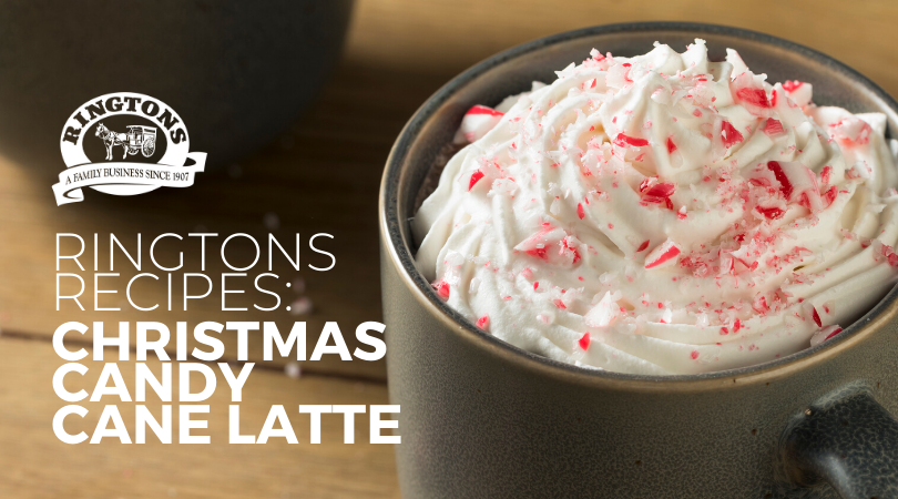 Ringtons Recipes: Christmas Candy Cane Latte