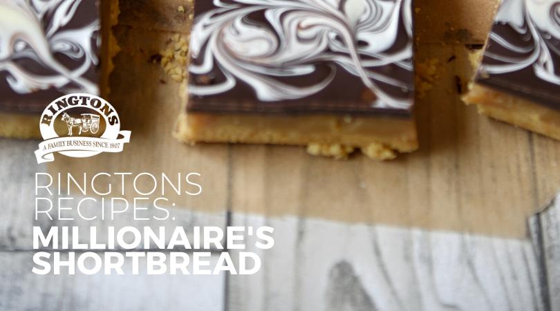 Ringtons Recipes: Millionaire's Shortbread