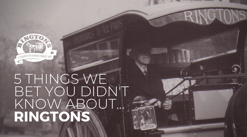 5 things we bet you didn't know about Ringtons…