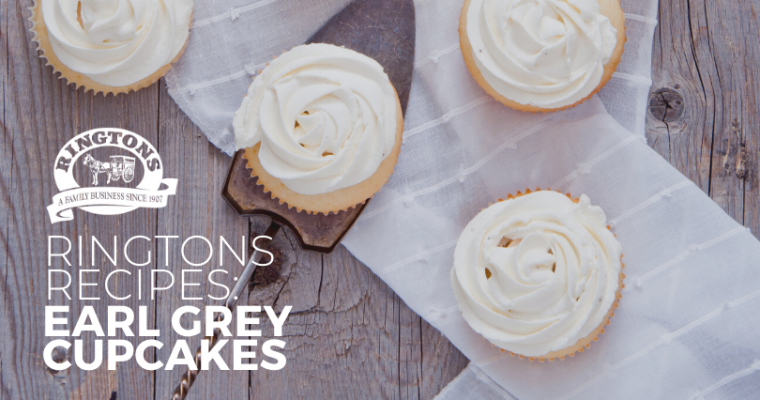 Ringtons Recipe: Earl Grey Cupcakes