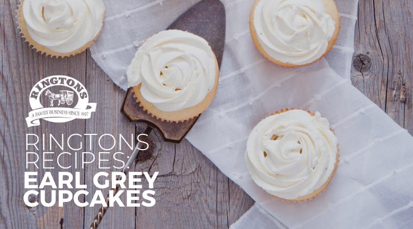 Ringtons Recipe: Earl Grey Cupcakes