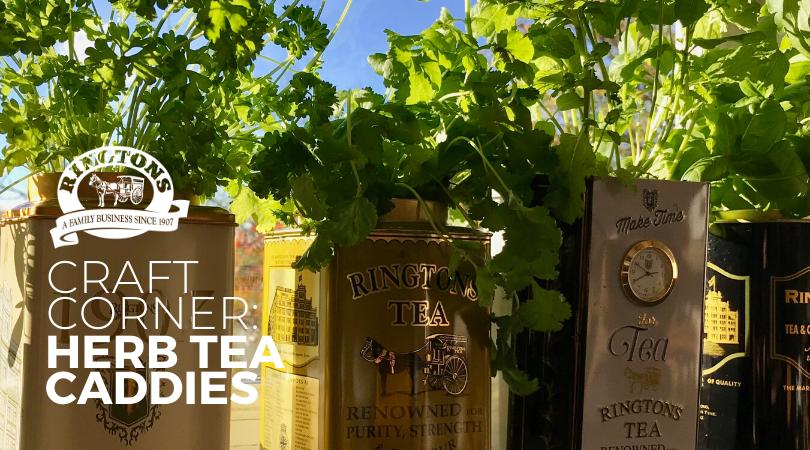 Craft corner: Herb Tea Caddies