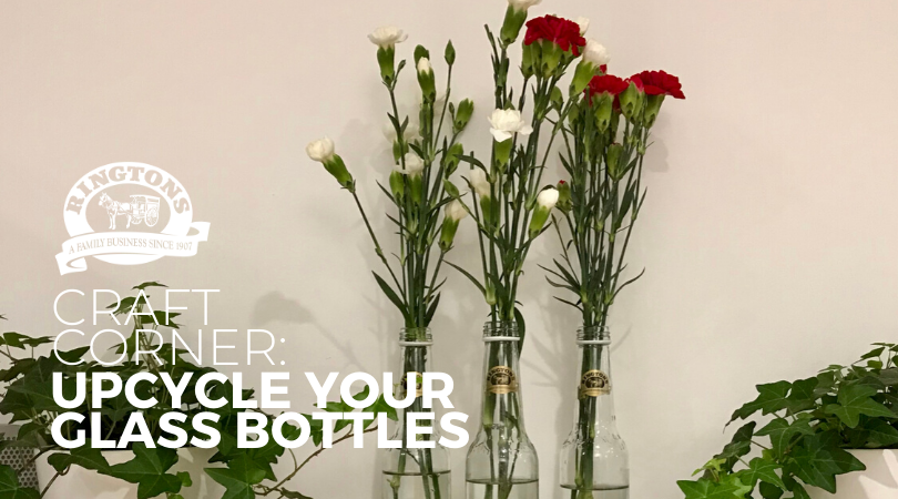 Craft Corner: Upcycle Your Glass Bottles