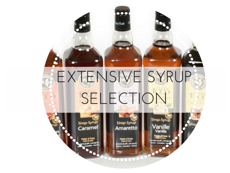 Wholesale Coffee Syrups