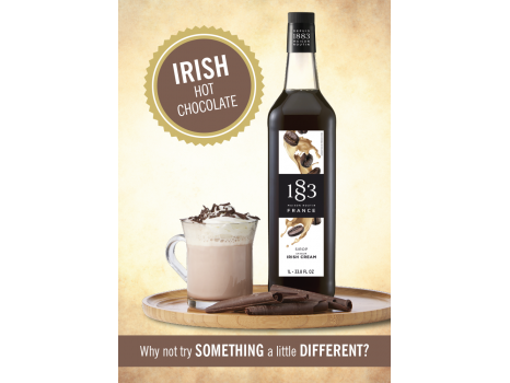 Irish Hot Chocolate Poster