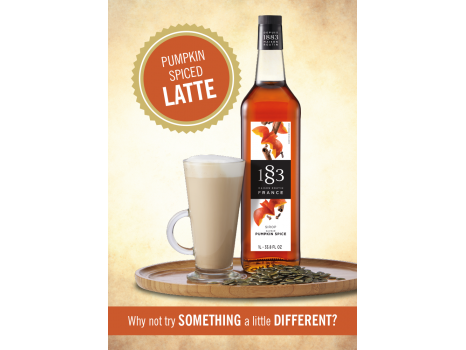 Pumpkin Spiced Latte Poster
