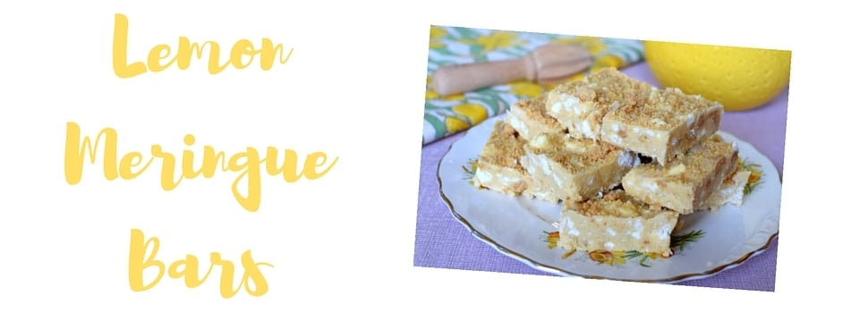 Ringtons Lemon Meringue Bars