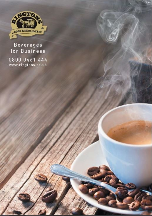 Catalogue ringtons beverages for business brochure negle Image collections