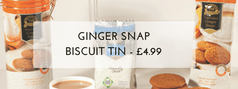 Ginger Snap Tin & 50 Teabags