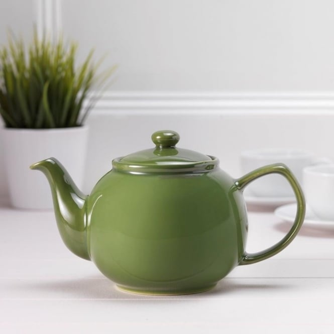 Price & Kensington Classic Olive Green 6 Cup Teapot