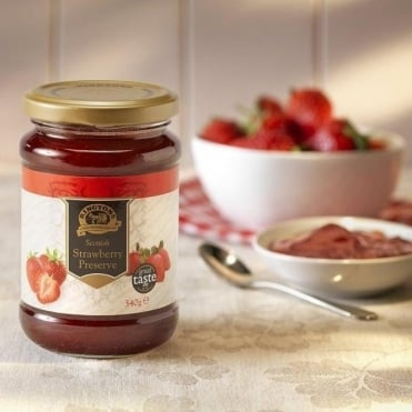 Ringtons 100% Natural Fruit Strawberry Jam