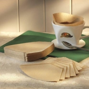 Ringtons 100% Natural Wood Pulp Coffee Filter Papers
