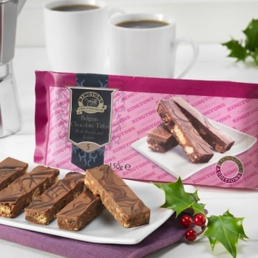 Ringtons Belgian Chocolate Tiffin