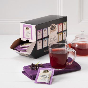 Ringtons Berry & Elderflower Tag & Envelope Tea Bags x 100