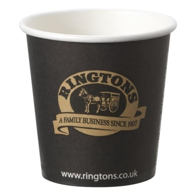Ringtons Branded Espresso Paper Cups 1000 (4oz)