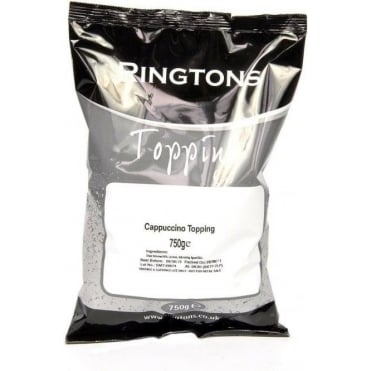 Ringtons Cappuccino Topping 750g