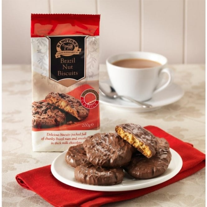 Ringtons Chocolate Brazil Nut Biscuits