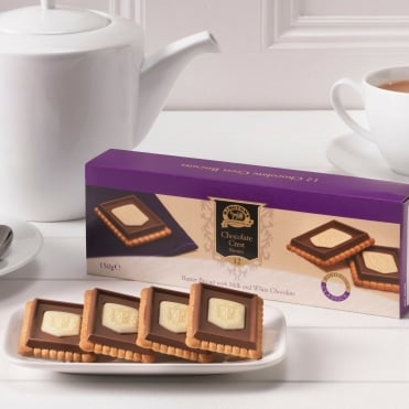 Ringtons Chocolate Crest Biscuits