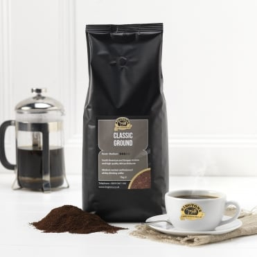 Ringtons Classic Blend Ground Coffee 1kg