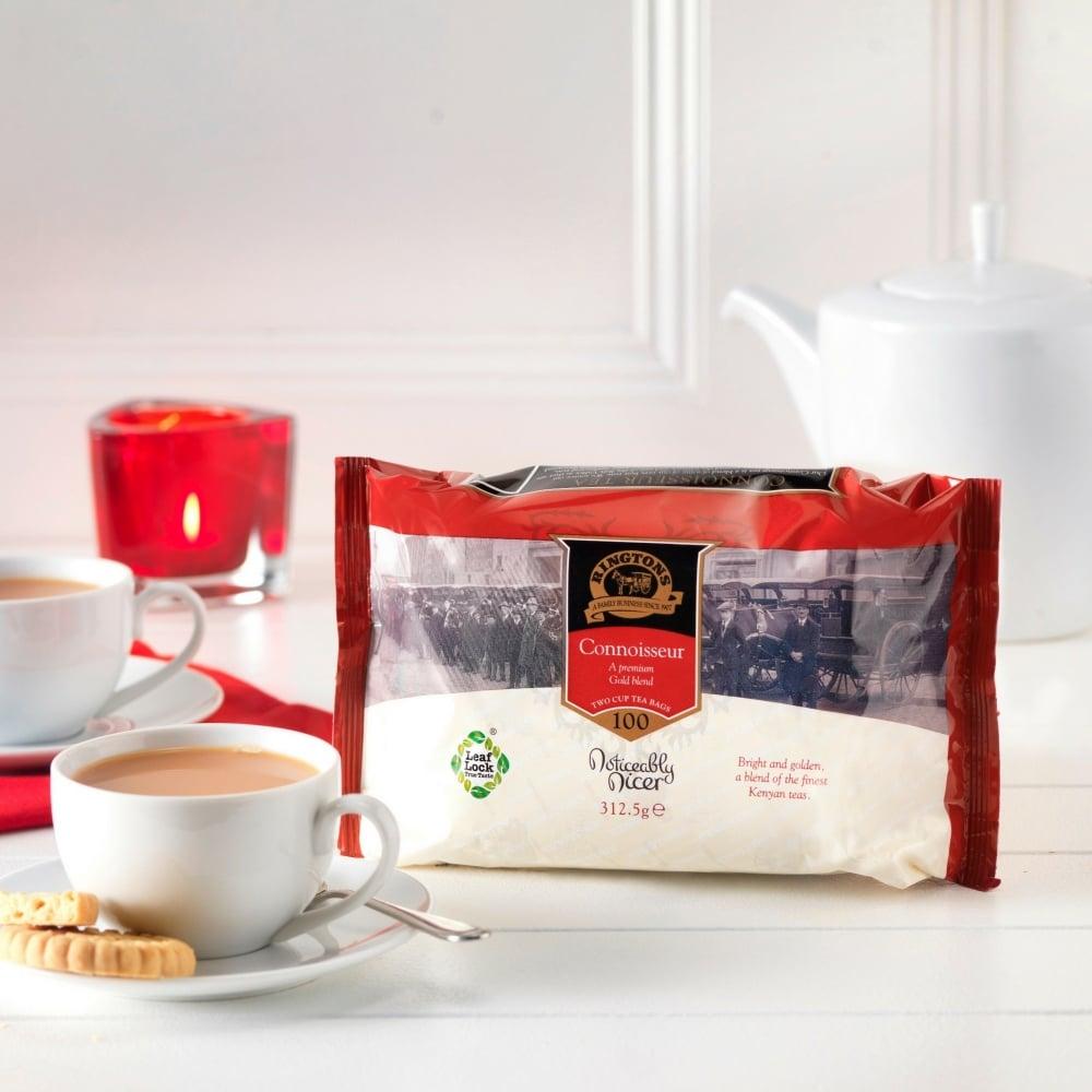 ringtons connoisseur tea bags x 100