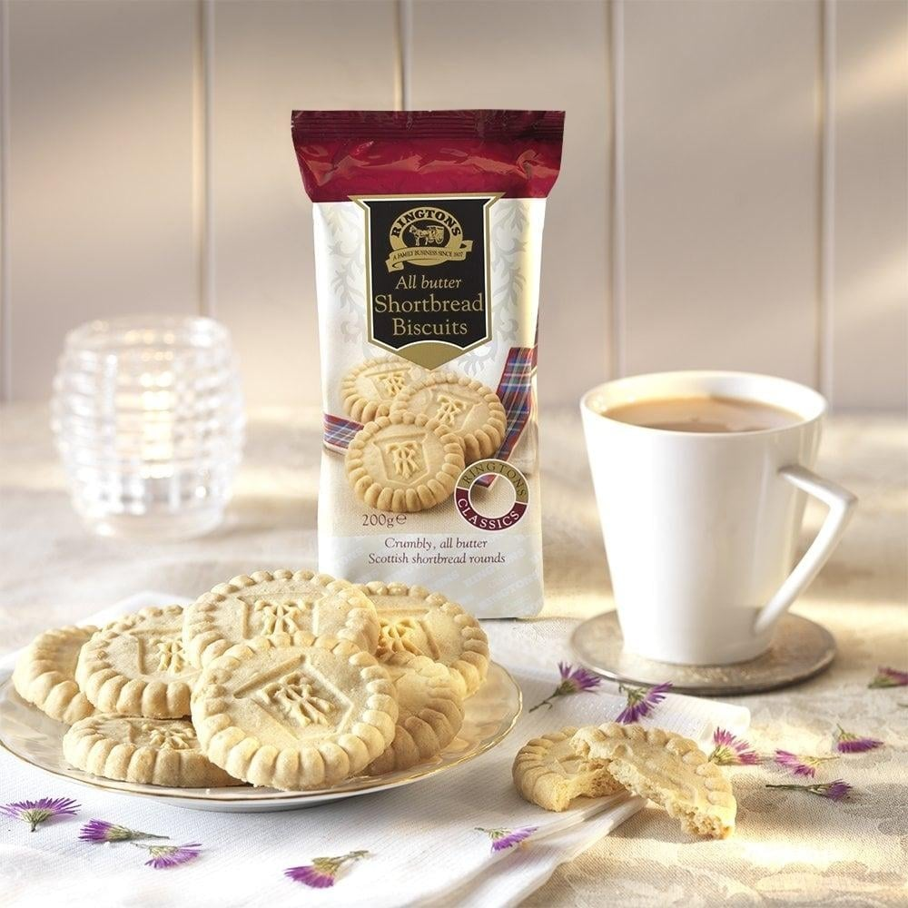 Buy luxury biscuits and cakes online cakes and biscuits ringtons ringtons creamy shortbread rounds negle Image collections