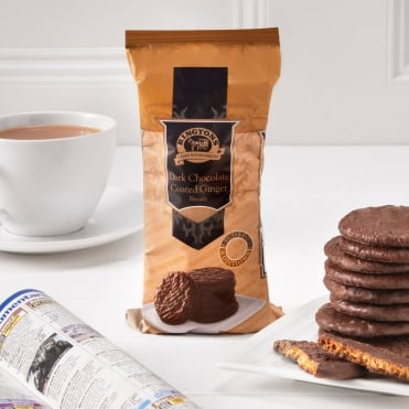 Ringtons Dark Chocolate Ginger Biscuits