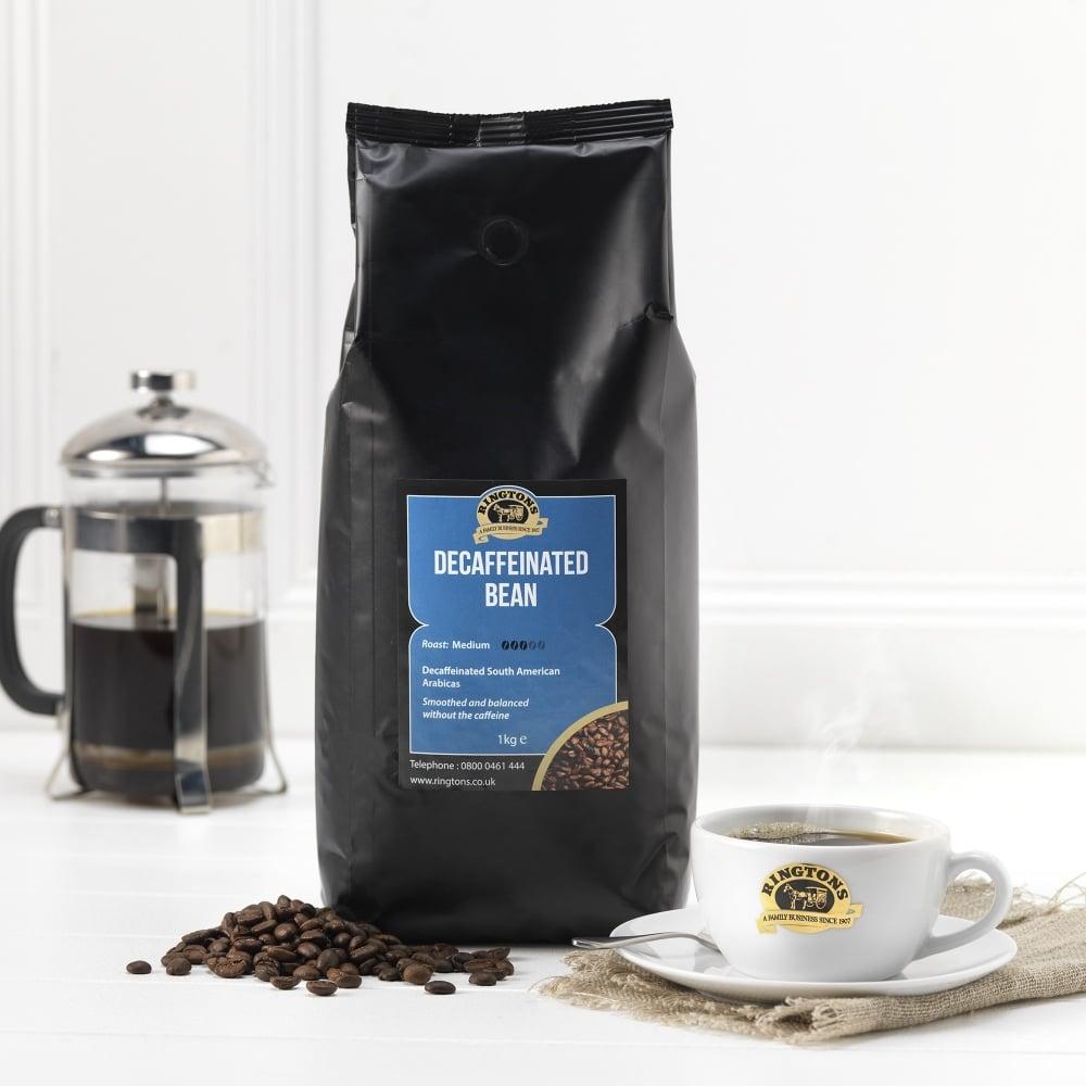 Ringtons Decaf Coffee Beans 1kg | Ringtons