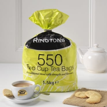 Ringtons Deluxe 2 Cup Tea Bags 550
