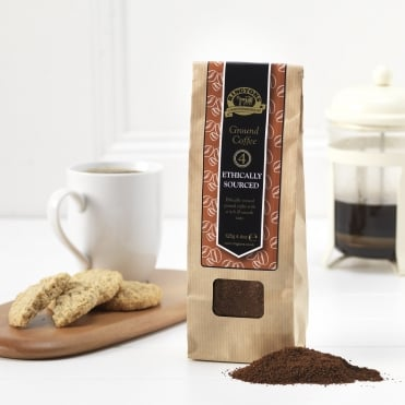 Ringtons Ethically Sourced Espresso Ground Coffee 125g