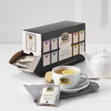 Ringtons Fairtrade Earl Grey Tag & Envelope Tea Bags x 100