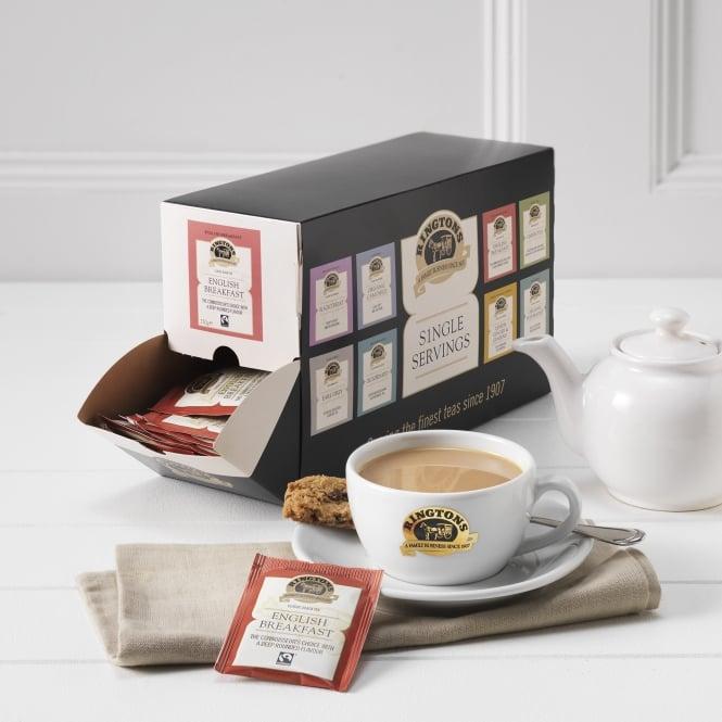Ringtons Fairtrade English Breakfast Tag & Envelope Tea Bags x 100