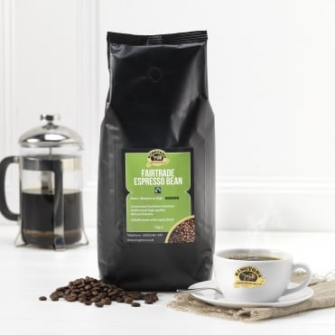 Ringtons Fairtrade Espresso Coffee Beans 1kg