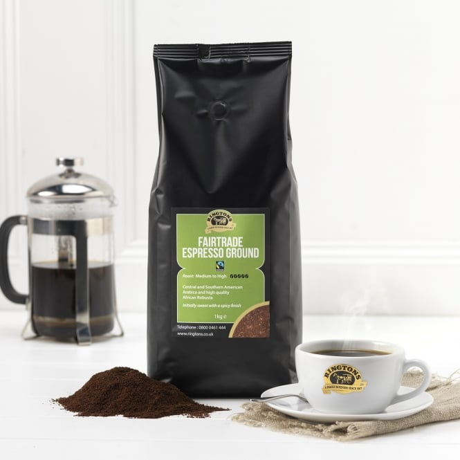 Ringtons Fairtrade Ground Coffee 1kg