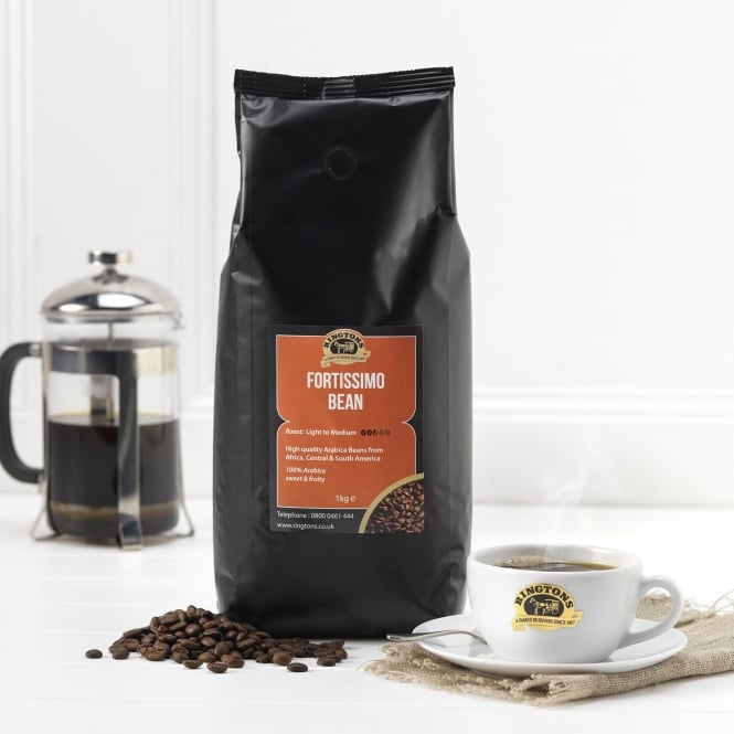 Ringtons Fortissimo Espresso Coffee Beans 1kg