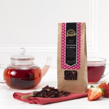 Ringtons Fruit Infusion Strawberries And Cream 125g