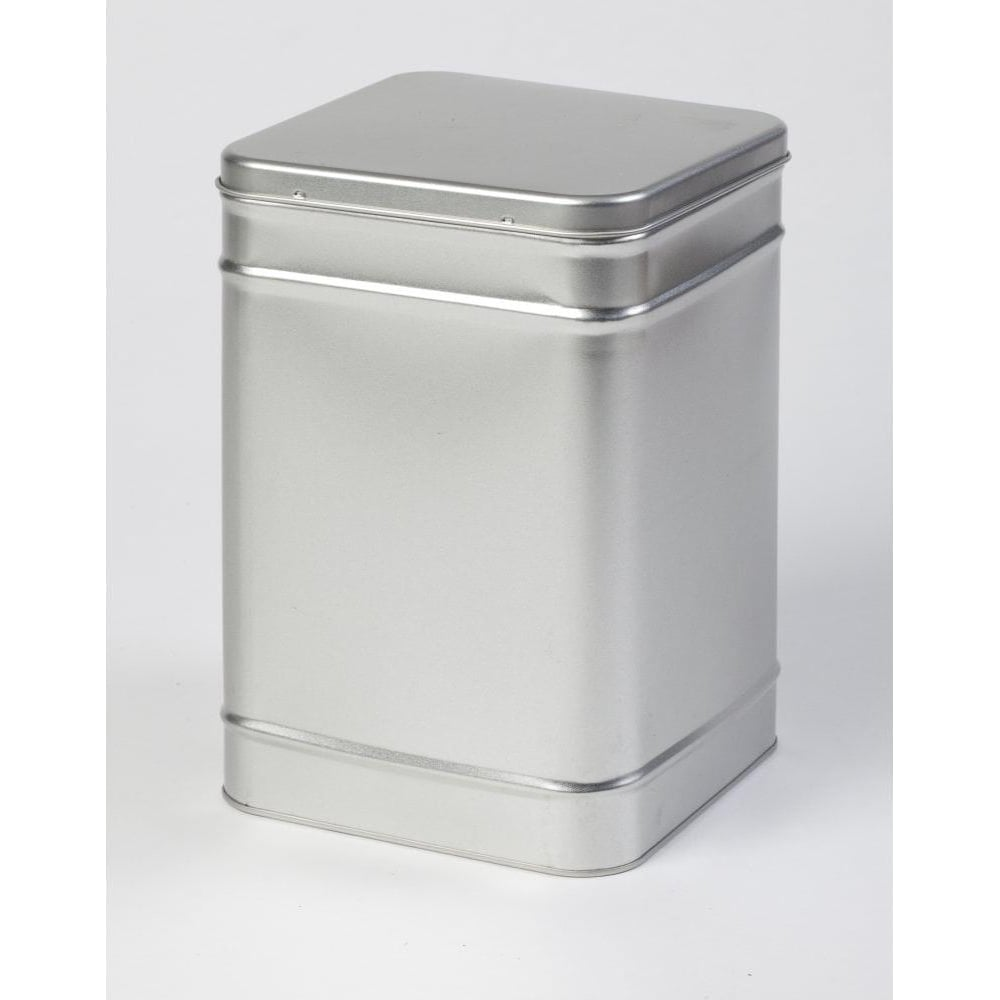 Ringtons Large Silver Storage Tin Ringtons