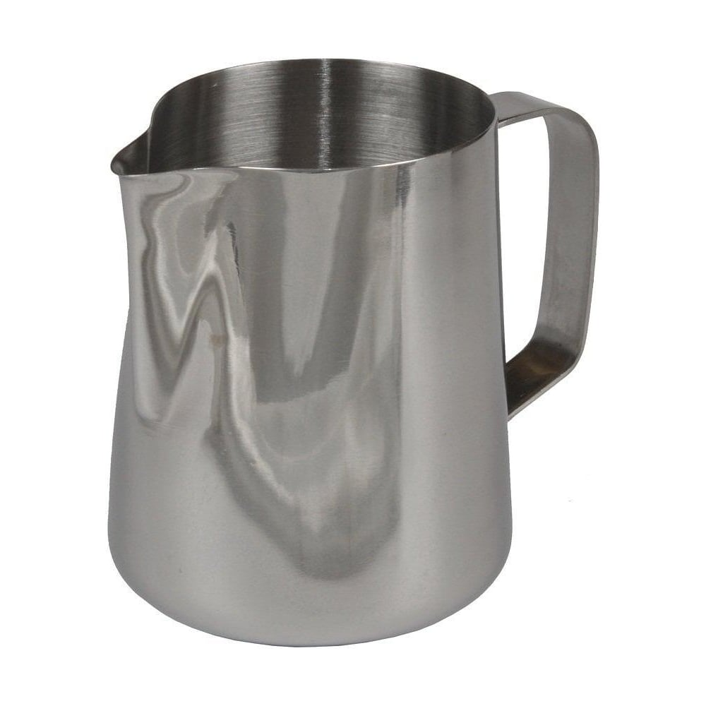 ringtons large stainless steel milk frothing jug  ringtons - ringtons large stainless steel milk frothing jug