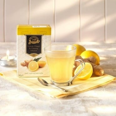 Ringtons Lemon, Ginger & Ginseng Tea Bags x 20