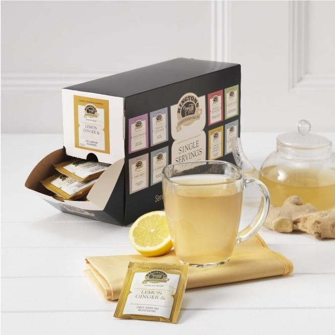 Ringtons Lemon & Ginger Tag & Envelope Tea Bags x 100